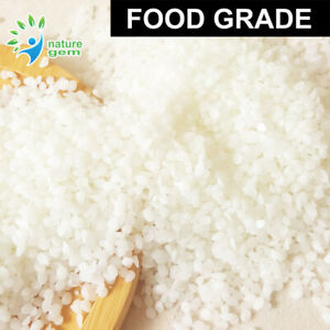 Food Grade Cream White Beeswax Pellets 100% Pure Natural 100g 200g 500g 1kg 2kg