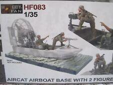 Aircat Airboat Base Wasserfahrzeug 1:35 *NEU* mit 2 Figuren Militär Diorama