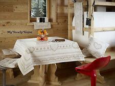 TOVAGLIA 140x240cm Country Innsbruck GALTEX GOBELIN Alpi Style capanne magico