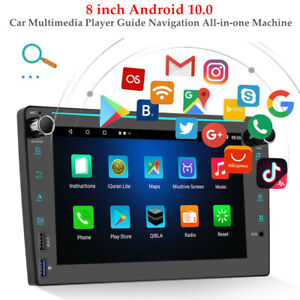 8'' Android 10.0 HD Touch Screen WIFI Car Multimedia MP5 Player GPS Navi Machine