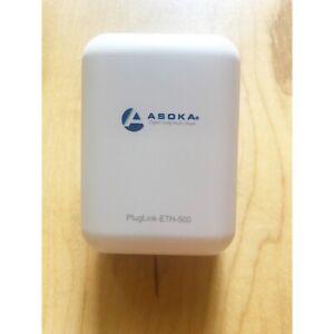 Asoka PlugLink PL9671-A2 ETH 500 Ethernet Extender Home Networking