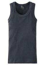 Schiesser Girl's Top Long Life Cotten S M L 152 164 176 95/5 Co / El Undershirt