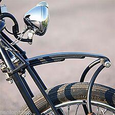 "VINTAGE UNITY 4"" CHR HEAD LIGHT LAMP HARLEY TRI XS650 BOBBER CHOPPER RAT HOT ROD"