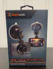 Black web Wide Camera Angle He Dash Cam With Video Recorder BWA19AV905 New