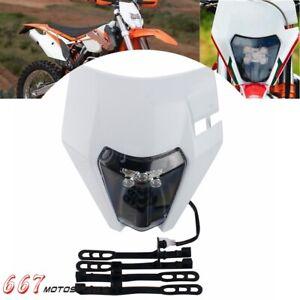 E11 E-Mark LED Motocross Headlight For TE125 TE150 TE250 TE300 EXC XCW SXF XCF-W