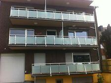 Balkongeländer  Glas Aluminium Balkon Geländer  VSG Glas
