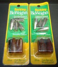 2pk Berkley BioWeights Fishing Powerbait Jackers Worm Weights 3/8oz