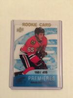 2011-12 Upper Deck Ice Premiers Andrew Shaw Rookie Card 160/499