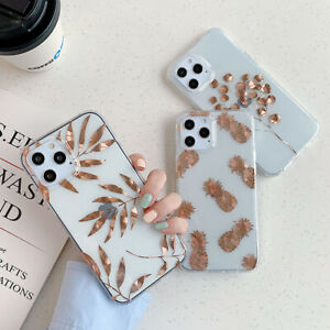 For iPhone 11 12 Pro Max SE XS X XR 8 7 Pattern Shockproof TPU Phone Case Cover
