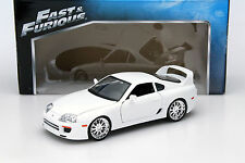 Brian's Toyota Supra Fast and Furious weiß 1:18 Jada Toys