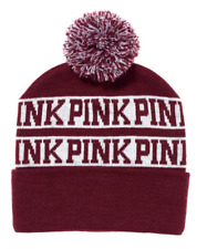 New Victoria's Secret PINK  Limited Edition Beanie Hat Pink Nation Great Gift