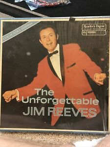 The Unforgettable Jim Reeves Reader's Digest Collector's Edition Vinyl Records