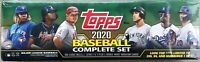 🔥 2020 Topps Baseball Complete Factory Set Series 1 & 2 Green Box Sealed 🔥