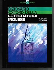 Drabble/Stringer, DIZIONARIO OXFORD DELLA LETTERATURA INGLESE, Gremese 1996