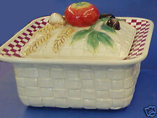Fitz and Floyd Papa Paisano Covered Vegetable Bowl MIB-#2058/343