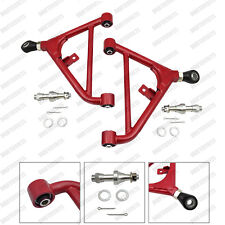 RED ADJUSTABLE REAR LOWER CONTROL ARM fits 240SX S13 180SX SUSPENSION SET US/JDM