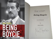 John Challis Being Boycie Book SIGNED Only Fools and Horses Book