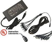 12V DC 5A Power Supply Adapter 110/240 12 V Volt 12Volt 5000mA 5 A Amp 5 Amp UL