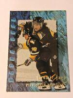 1995-96 Fleer Ultra Extra Ultra Cool #387 Jaromir Jagr Penguins Hockey Card