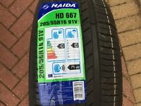 1 X NEW 205 55 16 HAIDA HD667 TYRE 205/55 R16 91V