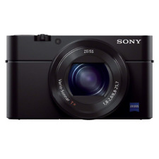 Sony RX100 III 20,1 Mpix Appareil Photo Reflex Numérique, Compact avec 24-70mm/F1.8-2.8 Objectif - Noir
