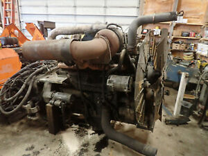 Cummins KTTA19C Twin Turbo Diesel Engine RUNS EXC! Hiatchi EX1200 Excavator KTA