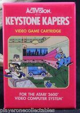 "Keystone Kapers Atari 2600 Video Game Box - 2"" X 3"" Fridge Magnet. Activision"
