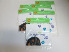 DOGGY BAG - PARTY PUPS GIFT BAGS FAVOR BAGS - LOT OF 6 PACKAGES
