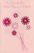 American Greetings Mother's Day Card: Grandmother...You Mean Everything To Me...