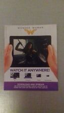 Wonder woman uv digital download code