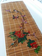 Japanese Hanging Scroll Art - Painted Birds and Flowers - Asian Antique
