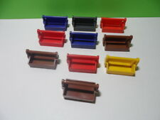 PLAYMOBIL – Lot de 10 caisses à outils / 3437 3817 4318 4490 5032 3833 3001 4024