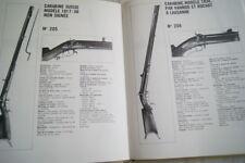 FUSILS CARABINES DE COLLECTION PELLATON CRANTA ILLUSTRE CREPIN LEBLOND 1979