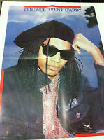 TERENCE TRENT DARBY pin up magazine POSTER INDIA INDIAN ULTRA RARE 1988
