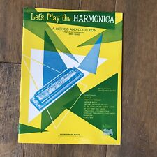 Let's Play The Harmonica By Jerry Sears