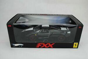 1:18 Mattel Elite #L7398 Ferrari Fxx Black - Limited Edition -rare