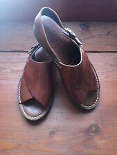 693e066f84a Vintage Colehaan Country Sandals Slingback Huaraches Buckle Brazilian 6.5M