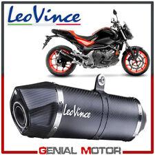 Leovince Auspuff Black Stahl Honda Nc 750 S/X/Dct/Abs 2016 > 2019