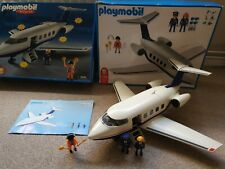Playmobil 5726 Airplane Boxed With Original Instructions