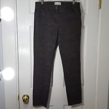 ELLIOTT LAUREN Size 8 Gray Brown Stretch Jeans Pants  Womens