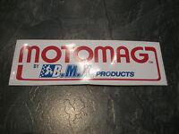 MONGOOSE BMX STICKER OLD SCHOOL BMX MONGOOSE MOTOMAG BMX STICKER ORIGINAL 80S