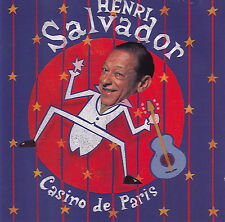 Henri Salvador CD Casino De Paris - France (EX/M)