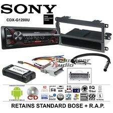 Sony CD Complete Radio Installation Package Dash Kit Harness Antenna Adapter