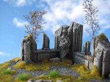 Chamberlains Corner Unpainted Ceramic Thomarillion Terrain Dwarven Forge D&D
