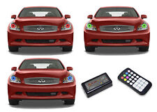 for Infiniti G35 07-09 RGB Multi Color M7 LED Halo kit for Headlights