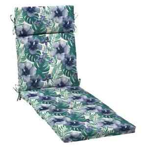 Arden Selections Chaise Lounge Cushion Outdoor Salome Tropical UV-Resistant