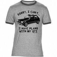 Im Retro Kurzarm Herren-T-Shirts in Größe XL
