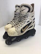 Vintage Nike Zoom Senior size 6 Rare Mens Inline Skates Roller Blades Sr white