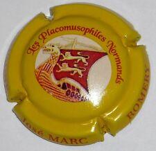 Capsule de Champagne : Extra !!! MARC José  , Placo Normands , jaune !!! n°44d