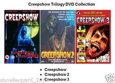 CREEPSHOW TRILOGY DVD COLLECTION PART 1 + 2 + 3 All Movie Film New Sealeed